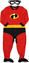 Disney Pixar Incredibles 2 Little Boys Blanket Sleeper with Mask (5T)