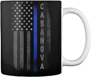 Casanova family thin blue line flag Mug - Teespring Mug