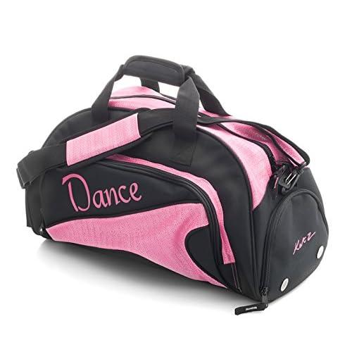 f505234bd6e Katz Dancewear Girls Ladies Medium Pink And Black Dance Ballet Tap Kit  Holdall Sports Bag KB78