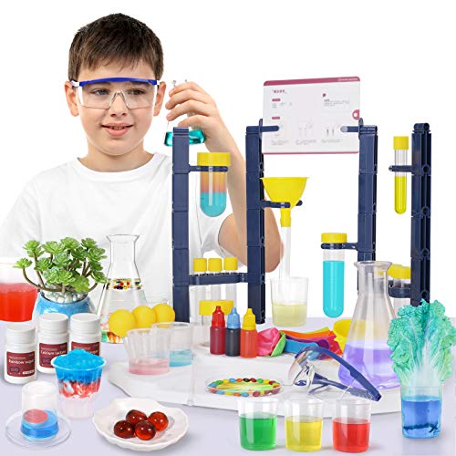 SNAEN Super Lab Science Kit with 30 Magic Scientific Experiments,STEM...