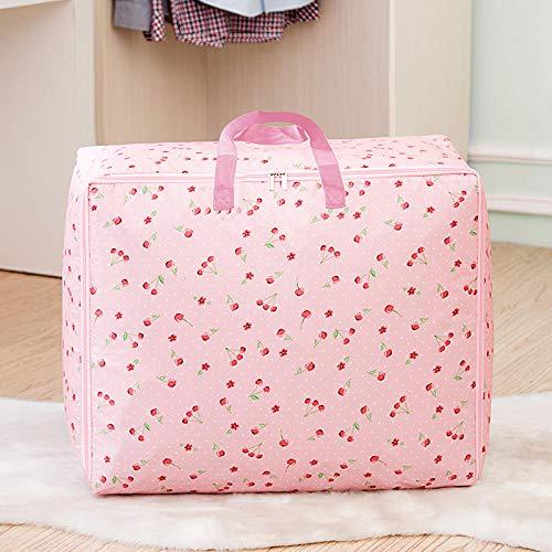 Generic Sacs de Rangement sous Le vêtement Organisateur Grand pour vêtements Chaussures Couvertures Chandails Jouets 70 * 50 * 30cm-Rose
