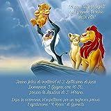 Biglietti Inviti battesimo personalizzati re leone...