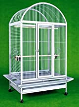 Extra Large Wrought Iron Bird Cage Parrot Cages Macaw Dometop 36