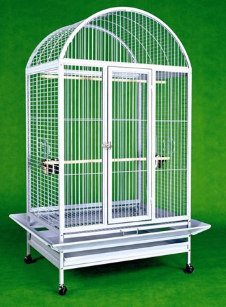 Large Wrought Iron Bird Cage Parrot Cages...