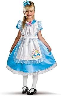 Disguise 187357 Disneys Alice in Wonderland- Alice Deluxe Child Costume