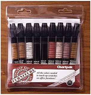 Furniture Touch-Up Markers Pack of 9