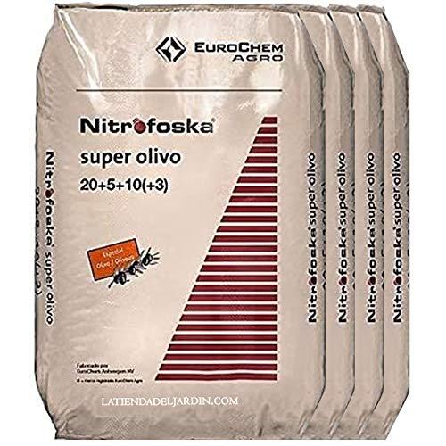 Suinga ABONO Super Olivo 200 Kg Nitrofoska 20-5-10 + MG + S...