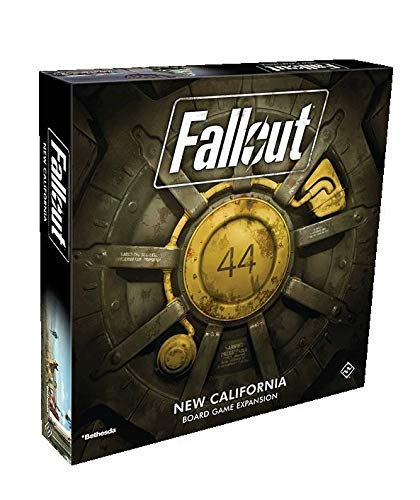 Fantasy Flight Games FFGZX03 Fallout: New California Expansion