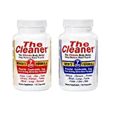 The Cleaner 2 Pack Bundle 7 Day Women's and 7 Day Men's Ultimate Body Detox, 52 Capsules Each