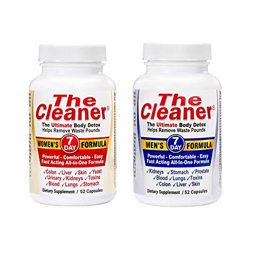The Cleaner 2 Pack Bundle 7 Day Women's and 7 Day Men's Ultimate Body...