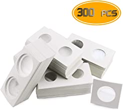 Nexxxi 300 Pcs Cardboard Coin Holder, 6 Sizes 2