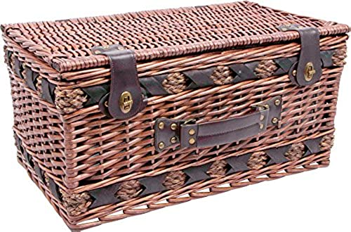WOHN-IDEE24 Picknickkorb Deluxe