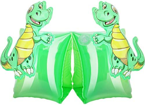 MoKo Swim Arm Bands for Kids Toddlers Begin to Swim Inflatable Pool Floats Sleeves Cute Cartoon product image