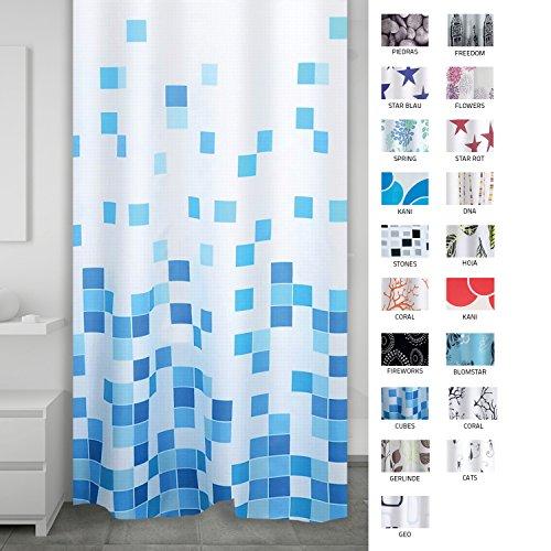 Ridder 403310–00Rideau de douche en textile,...