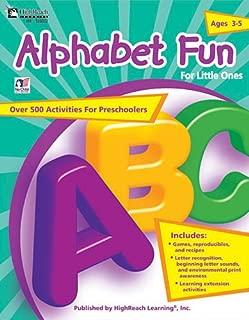Alphabet Fun for Little Ones, Grades Preschool - PK