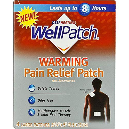 Well Patch Wellpatch Warming Pain Rlf 3 Pack 4 Ct each