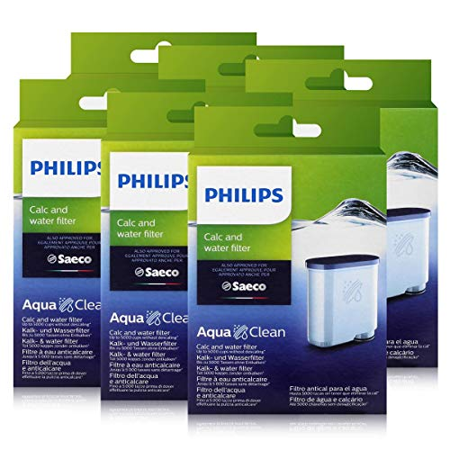 Philips CA6903/10 AquaClean Wasserfilter für Saeco Philips Automaten (6er Pack)