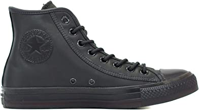 converse all star nere pelle uomo