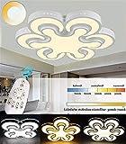 ZHLJ Matrimonio Lámpara De Techo De La Habitación Habitación Creativa Moderna Sala De Estar Estudio De Iluminación De La Lámpara En Forma De Flor Minimalista