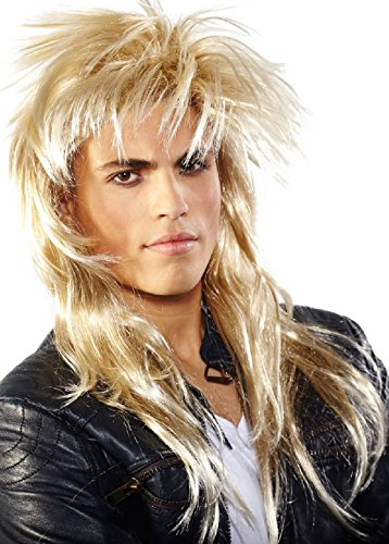 Folat Perruque 26770 – Johnny, One Size, Blond
