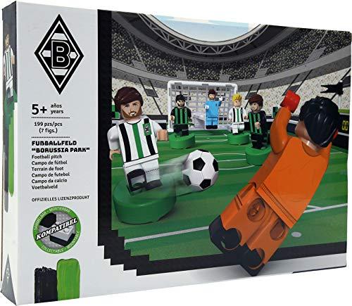 Borussia Mönchengladbach Fußballfeld aus Bausteinen, 197 Teile