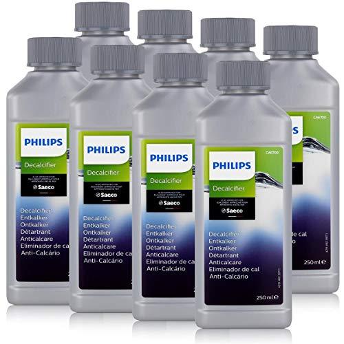 Philips Saeco CA6700/10 - Anticalcare 250 ml, per macchine da caffè automatiche (confezione da 8)