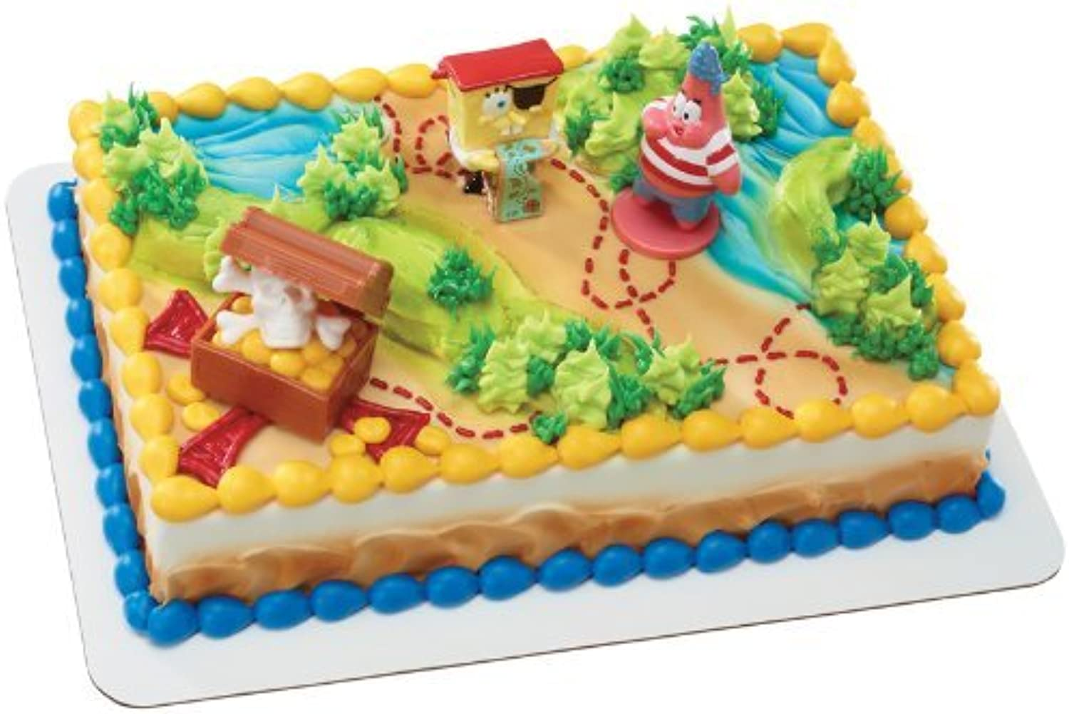 SpongeBob SquarePants Pirates Treasure Hunt DecoSet Cake Topper by SpongeBob SquarePants