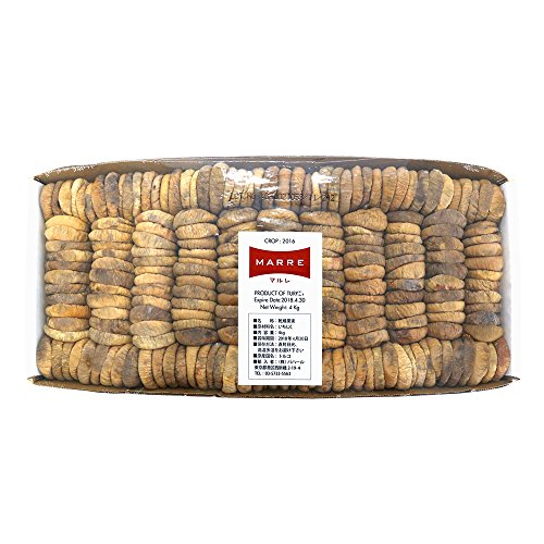 MARRRE (マルレ)トルコ産 ドライフィグ箱入り(乾燥白イチジク) 4kg