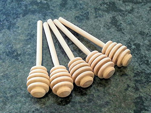 Red Barn Farm of Maine 200 4 Inch Honey Dippers - For Favors or Resale
