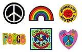 Patch Regenbogen Peace on Earth Atomkraft ? Nein Danke