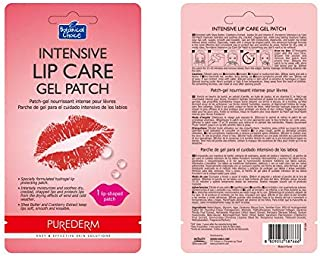 Purederm Intensive Lip Care Gel Patches 1 lip shaped patch