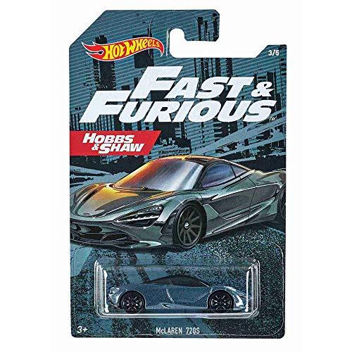 Hot Wheels McLaren 720S Fast & Furious Hobbs & Shaw 1:64 GJV59 GDG44