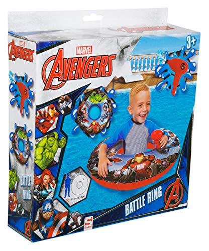 Avengers Disney - Anillo Individual con Pistola de Agua, Color Azul