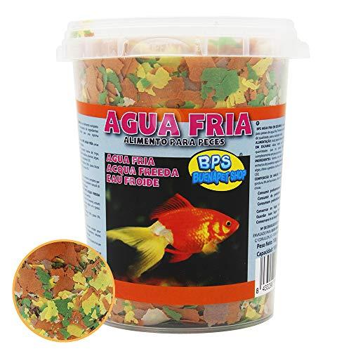 BPS Alimento Completo para Peces Agua Fría Equilibrada para Peces Ornamentales de Acuario 1000 ml (Modelo 1: 100g) BPS-4091
