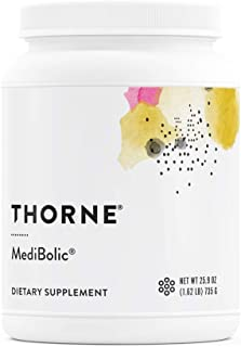 Thorne Research - MediBolic - Gluten-Free and Dairy-Free Supplement Powder – Increases Satiety and Enhances Fat Burning - ...