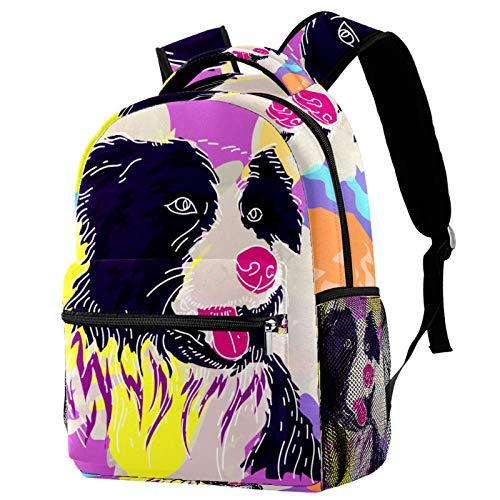 Mochila de viaje para perro, color rosa, mochila de escuela, para mujeres, adolescentes, niñas y niños