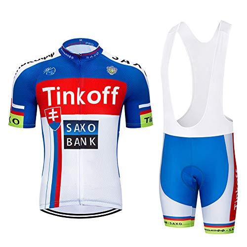 Fietsshirt Pak voor heren Korte mouwen Tops + shorts Lichtgewicht Ademend Sneldrogend Zomer MTB Mountainbike Fietsracen