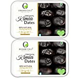 ORGANICALI Kimia Dates 1kg++, Pack of 2, Fresh Instant Energy & Immunity Booster Packs, Hand Picked selection.