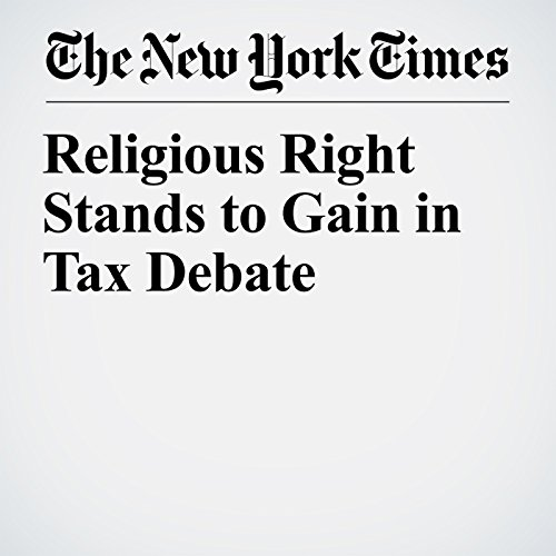 Religious Right Stands to Gain in Tax Debate copertina
