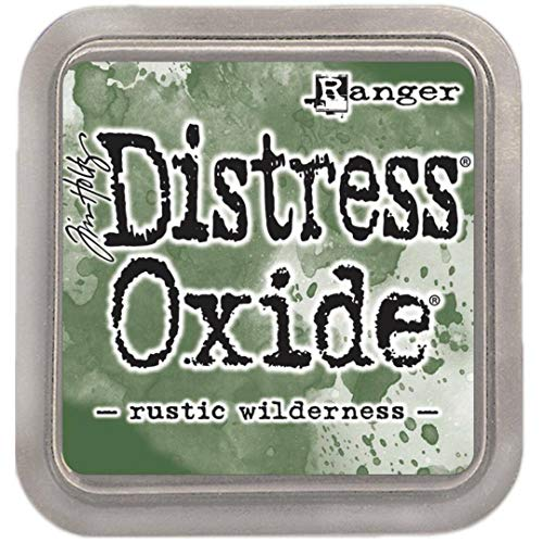 Ranger Distress Oxide Ink Pad November Color, Wilderness Rustique, 3 x 3 inches
