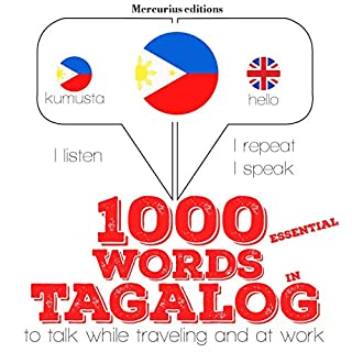 1000 essential words in Tagalog cover art