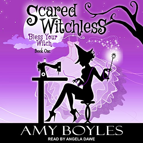 Scared Witchless audiobook cover art