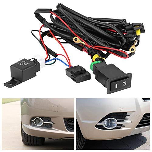 Kit de cableado LED con cableado de interruptor para coche