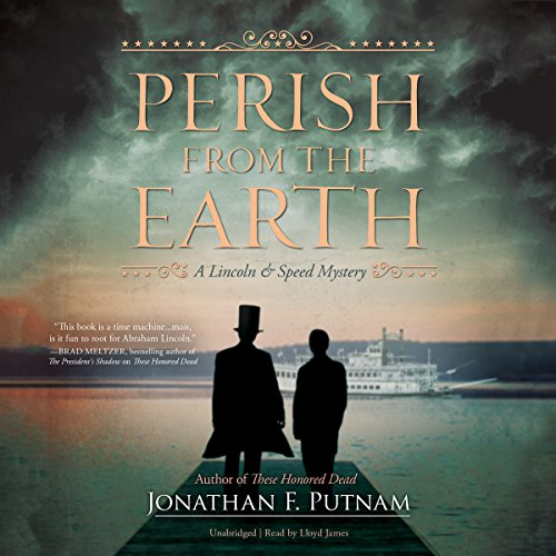 Perish from the Earth audiobook cover art