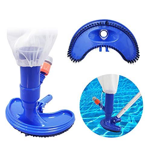 CNSSKJ Aspirador de vacío para piscina, aspirado preciso para piscinas, miniobjetos flotantes, herramientas de limpieza para pozos de estanque, sin barra.