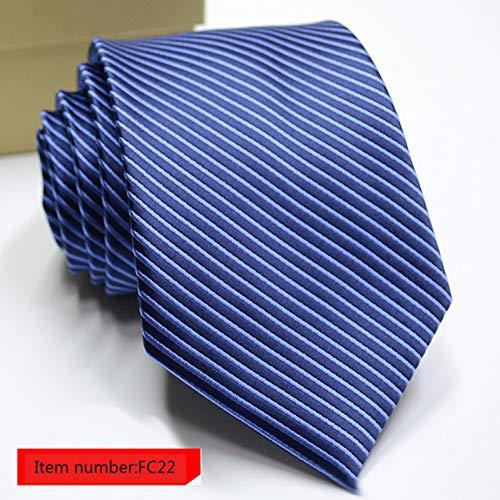 YUFSHU heren stropdassen streep bloemen jacquard dassen accessoires Daily Wear Neck Tie huwelijksgeschenk stropdas voor mannen Fc22