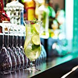 Arcoroc ARC 54584 Hurricane Cocktailglas, Cocktailschale, 440ml, Glas, transparent, 6 Stück - 4