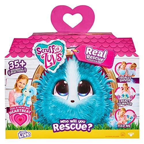 Baby Supplies HIL Scruff-A-Luvs Conejo De Orejas Grandes Peluche Regalo De La Ducha Rescate Real Adorable Adopci/ón Funci/ón Interactiva De Felpa Caja Sorpresa Regalo De Cumplea/ños