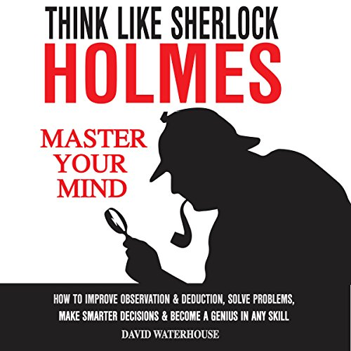 Think Like Sherlock Holmes audiobook cover art