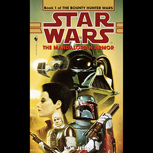 Star Wars: The Bounty Hunter, Book 1: The Mandalorian Armor                   By:                                                                                                                                 K. W. Jeter                               Narrated by:                                                                                                                                 Anthony Heald                      Length: 2 hrs and 59 mins     40 ratings     Overall 4.3